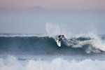 Hurley ZA team rider Adin Jeenes on a small May day at Seal Point